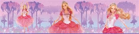 dancing princess barbie wallpaper border wallpaper u0026 border