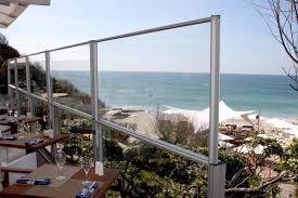 pare vent verre paravent en verre télescopique par glass systems