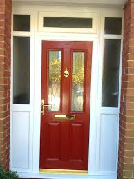 Green Upvc Front Doors by Coloured Upvc Front Doors Oak Red Door Oak Coloured Upvc Front