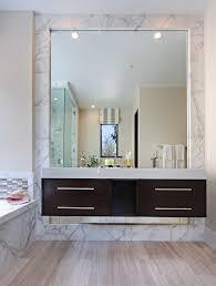 Large Bathroom Mirror Diy Bathroom Mirror Frame Ideas Bathroom Rustic With Floating