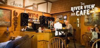 restaurants night life lake placid adirondacks river view cafe at high falls gorge