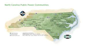State Map Of South Carolina by Electricities