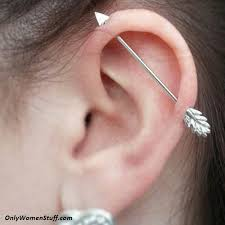 where to get cartilage earrings 1000 ear cartilage piercing ideas and types