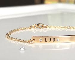 personalized gold bracelets gold bar bracelet personalized bar bracelet custom