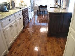 beautiful hardwood floors shined with shine floor finish