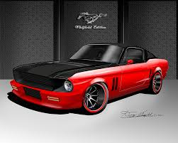 67 Mustang Black 1967 1968 Ford Mustang Fine Art Prints U0026 Posters By Danny Whitfield