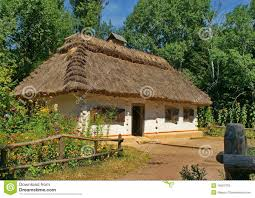 house in the of ukraine royalty free stock photos