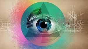 iris illuminati fond d 礬cran illustration les yeux abstrait ouvrages d