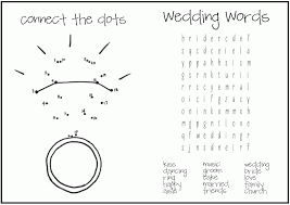 printable wedding coloring pages kids kids coloring