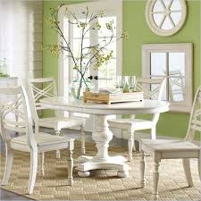 round dining table set with leaf extension dining room glamorous round white dining room table round white