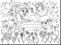 amazing printable candy coloring pages candyland coloring