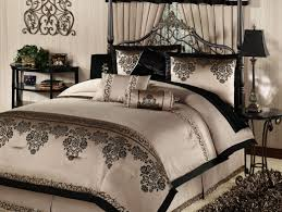 Gold And Black Comforter Set Bedding Set Infatuate Black White And Gold Bed Sheets Delightful