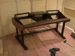 Office Desk Woodworking Plans Lovable Build Your Own Studio Desk Plans Simple Woodworking Plan