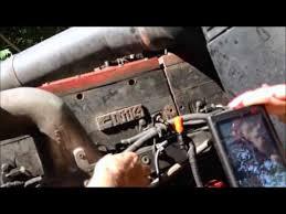 cummins n14 fan clutch solenoid n14 cummins engine video of ecm sensors youtube