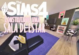 the sims 4 construo sala de estar living room 3 youtube fiona