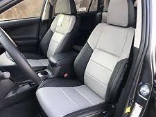 toyota leather seats 2014 toyota rav 4 xle katzkin leather seat cover covers complete