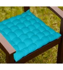 Chair Tie Backs Chair Pads Online Buy Dining Chair Pads Seat Cushions In India At