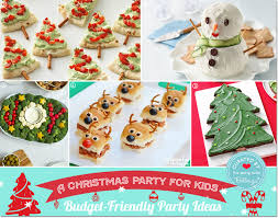 how to plan a christmas party for kids budget friendly ideas