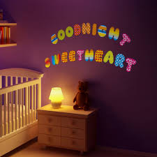 Letter Wall Decals For Nursery by Cartoon Wall Decals Nursery Baby Room 26 English Letters