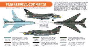 orange line u2013 polish air force su 22m4 paint set hataka