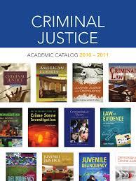 criminal justice juvenile delinquency criminology