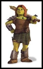 Fiona Halloween Costume Cosplay Size Fiona Shrek Ogre Princess Costume