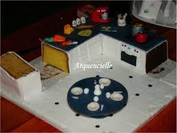 gateau cuisine gâteau cuisine en pâte à sucre pour un dîner avec des blogueurs