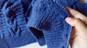 sueter tejido a dos agujas youtube suéter para hombre talla l tejido en dos agujas segunda parte