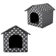 large dog house kennel pet animal vintage deluxe indoor durable