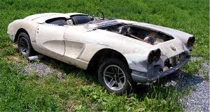 corvette project cars restorable project car