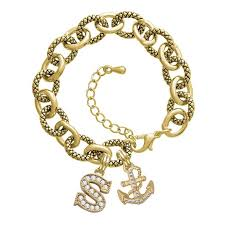 white gold bracelet with charms images Cheap white gold anchor charm find white gold anchor charm deals jpeg