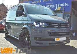 volkswagen van front vw transporter t5 van front bumper spoiler