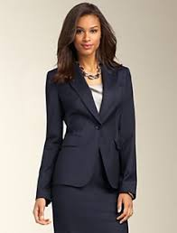 stafford super 130 navy pinstripe suit separates found at