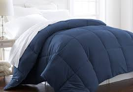 How To Choose A Down Comforter Choosing A Down Comforter Blue Buying A Down Comforter Blue