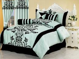 Black And White Queen Bed Set Bedding Sets Black And White Comforter Set Queen Bed Set With Arch