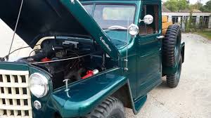 willys jeep truck for sale 1953 willys pickup classic pick up for sale youtube