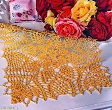 free crochet table runner patterns 154 knitting crochet dıy