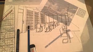 desain interior jurusan sketsa ide tugas akhir desain interior its youtube