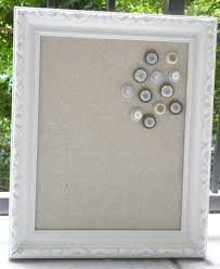framed cork board fabric covered bulletin board jewelry