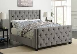 light grey upholstered bed austin s couch potatoes furniture stores austin texas light grey