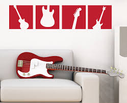 guitar wall decal squares vinyl wall art sticker boy bedroom guitar wall decal squares vinyl wall art sticker boy bedroom wall decal music