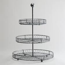 3 tier standing fruit basket u2014 farmhouse design and furniture 3