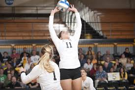 demarchi making an impact for michigan tech volleyball news