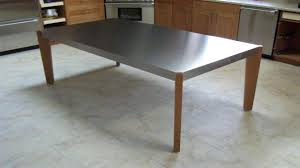 pottery barn counter height table stainless steel top dining table pottery barn uk counter height