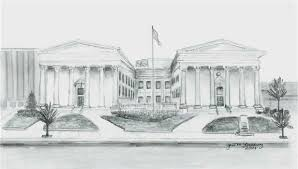 pa supreme court building sketch graphite pencil house sketch sample