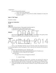 Receptionist Job Duties Resume by Science 3 Tg Draft 4 10 2014 Yes
