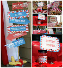 themed signs carnival party signs w editable text diy printable carnival