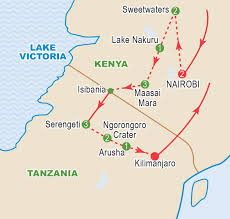 Map Of East Africa by East Africa September 2017 Craig Travel