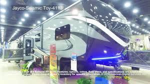 Jayco 5th Wheel Rv Floor Plans by Jayco Seismic 5th Wheel Toy 4113 Youtube