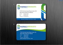 company cards business cards to pharmacy company by dewaaaa on deviantart
